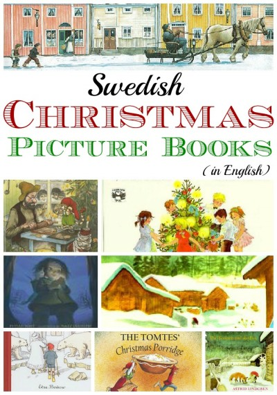 Swedish Christmas books for kids.