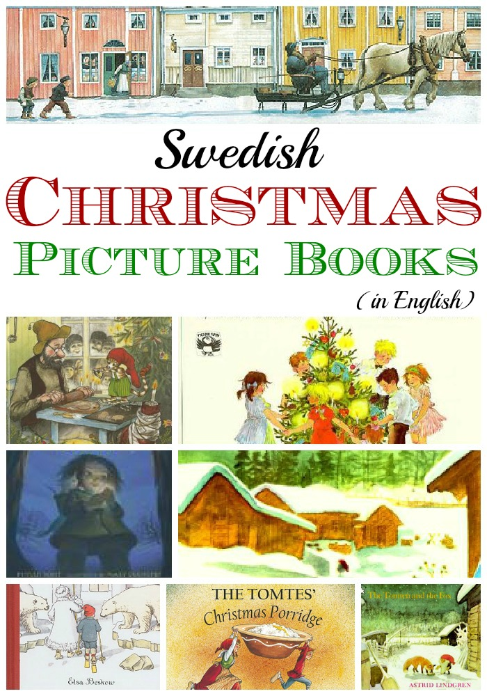 Have a very Swedish holiday! Christmas picture books and books about winter and Lucia for kids. Click through to see the best picture books from Swedish authors.