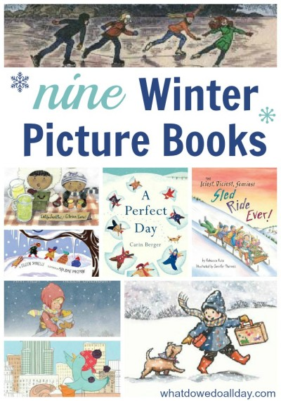 kids books for winter