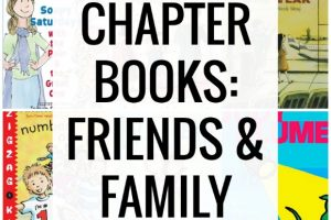 Beginning chapter books about friends and families