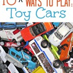 10 MORE Ways to Play with Toy Cars