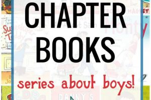 30 First Chapter Books for Kids: Series About Boys