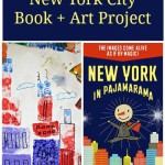 New York in Pajamarama + Cityscape Sponge Art