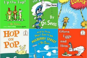 Seuss books and crafts