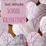 Easy Valentines for Your Preschool Friends