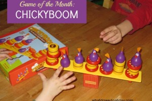 ChickyBoom is a balancing and fine motor game for kids