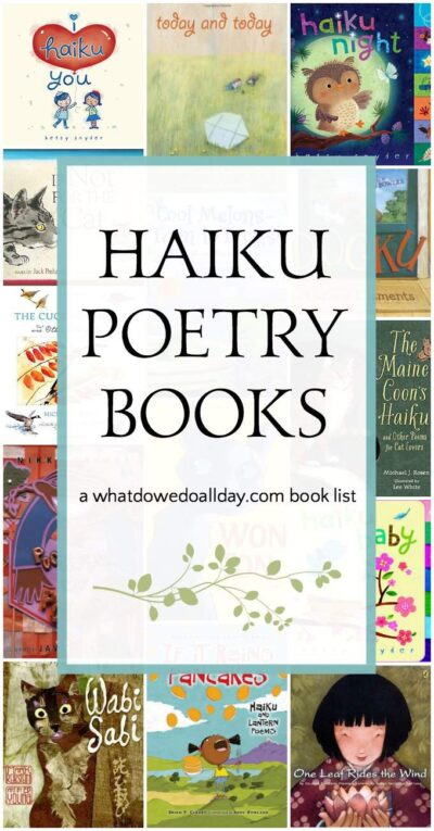 Haiku books for kids