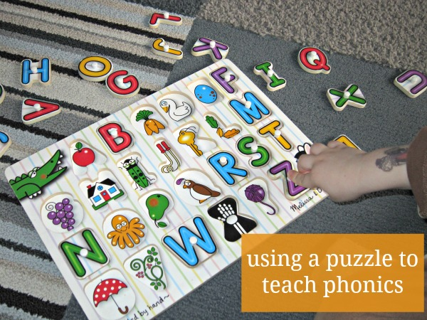 how to teach alphabet sounds