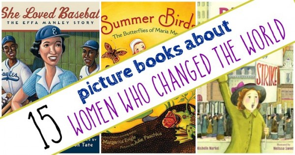 Picture books for kids about women in history.