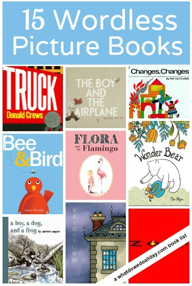 A list of 15 wordless picture books worth checking out
