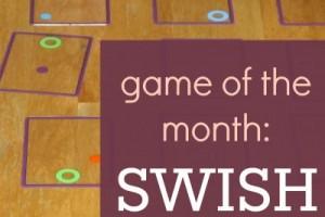 Swish card game teaches visual and spatial perception skills