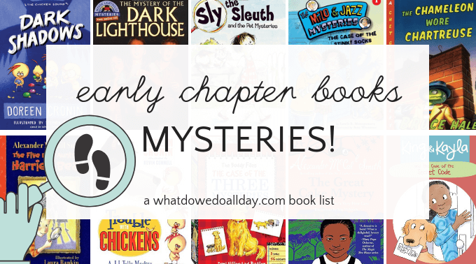 Early chapter book mysteries