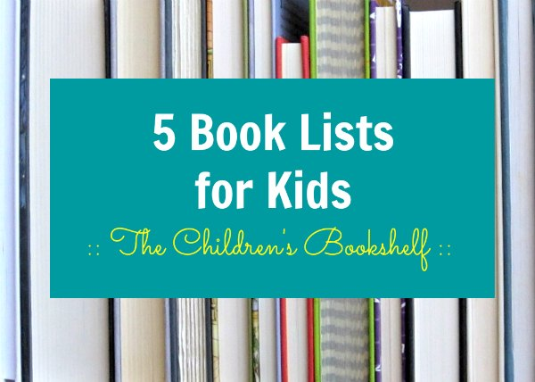Five great book lists for kids