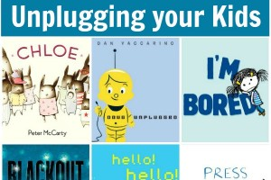 Kids books that celebrate unplugging your kids for screen-free week