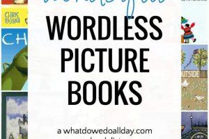 Wordless books for children