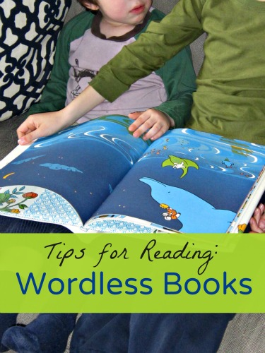 Tips for reading wordless books and questions to ask kids