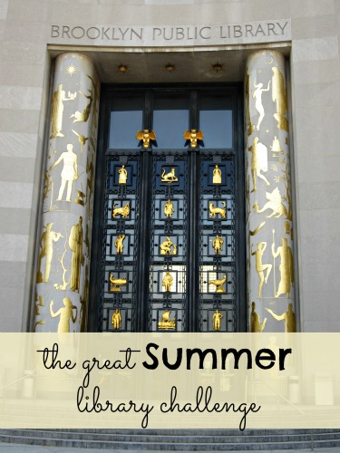 great summer library challenge