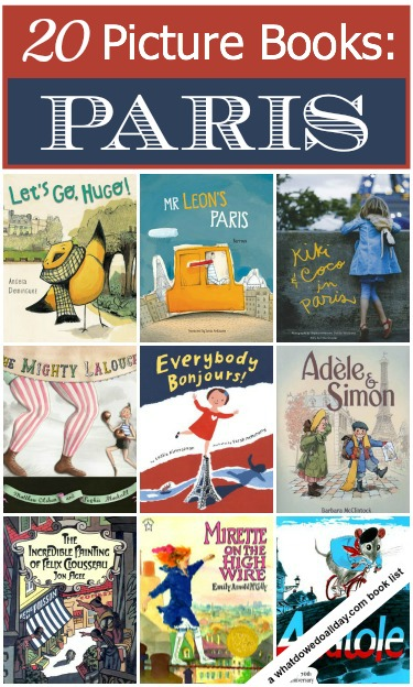Picture books to introduce kids to Paris