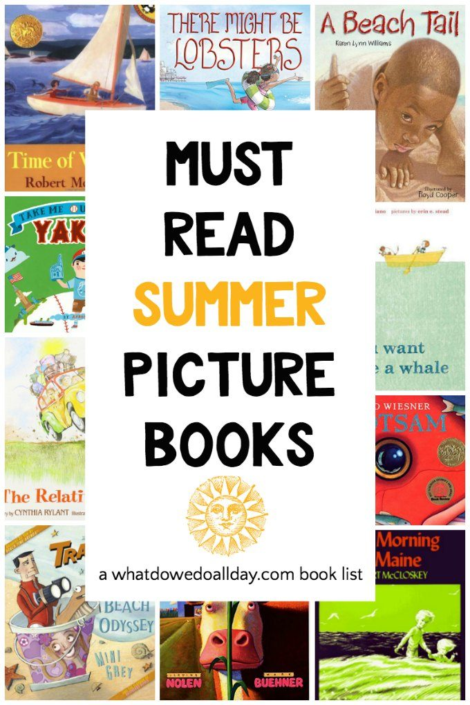 Summer reading picture books everyone should read!