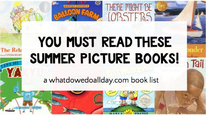 Summer Picture Books to read with the kids