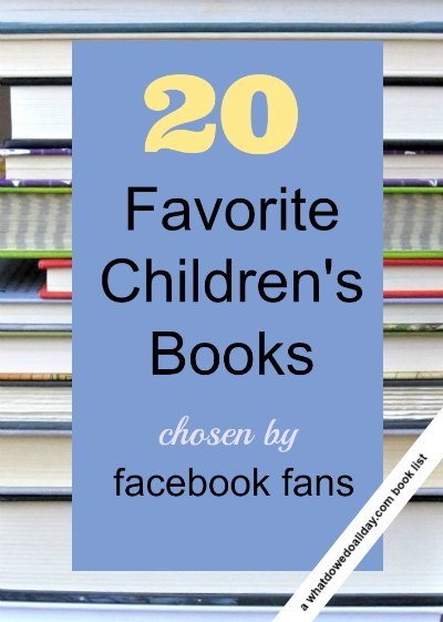 Children's books chosen by Facebook fans of What Do We Do All Day?