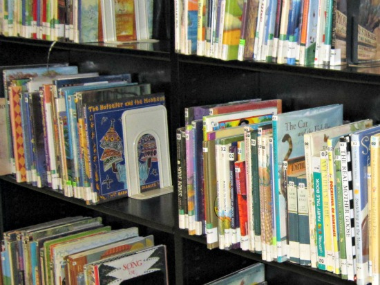fairy tale books in the non-fiction section