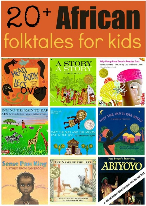 African folktales for kids over 20 picture books