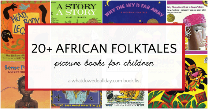 African folktale picture books for kids