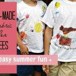 """Can't Knit Space Shoes? Make a """"Summer of Fun"""" Tee-Shirt Instead"""