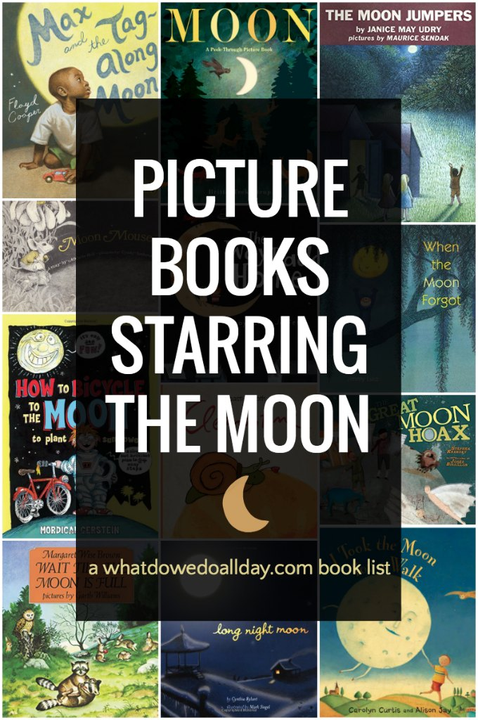Children's picture books about the moon. These fiction books will spark your child's imagination and spirit.