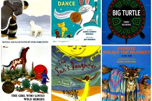 Native American (North America) folktales for kids told in picture books