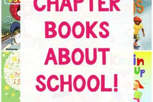 Best chapter books about school for kids.