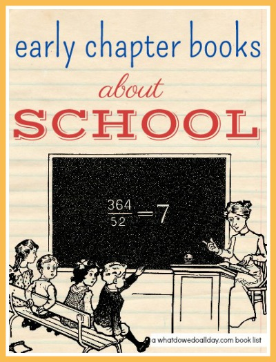 Chapter books with a school theme for ages 7 - 10.