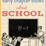 Early Chapter Books about School