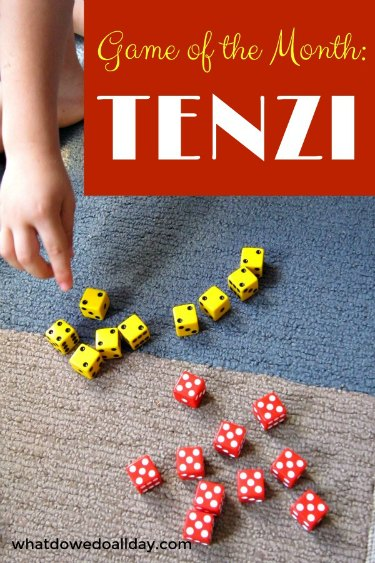 Tenzi is a fast paced dice game fun for kids
