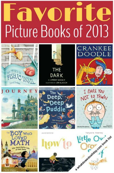 Great picture books for kids 2013 (part 2 in a series)