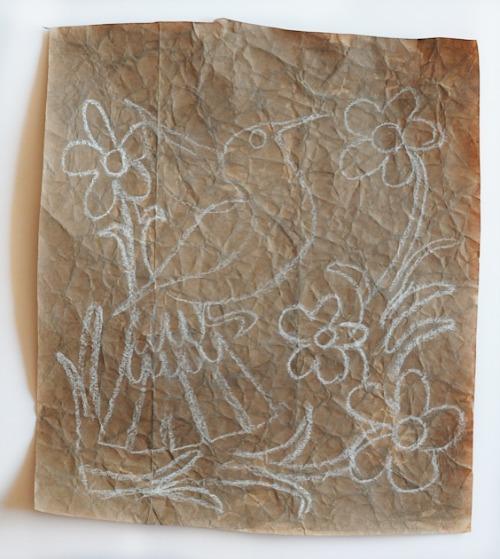 Amate Chalk drawing