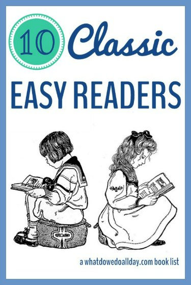 Classic easy reader books that parents and kids will both enjoy.