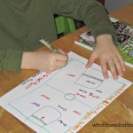 Practical Handwriting Practice: Kid-Made Cards