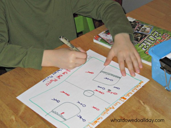 Kindergarten Number Writing Worksheets   Confessions of a Homeschooler Handwriting practice  Royalty Free Stock Photos