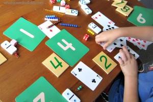Number game for kindergarteners and preschoolers