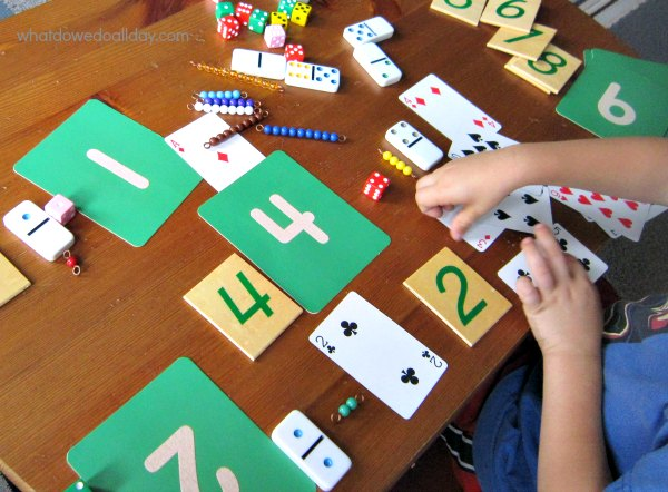 Number game for kindergarteners and preschoolers