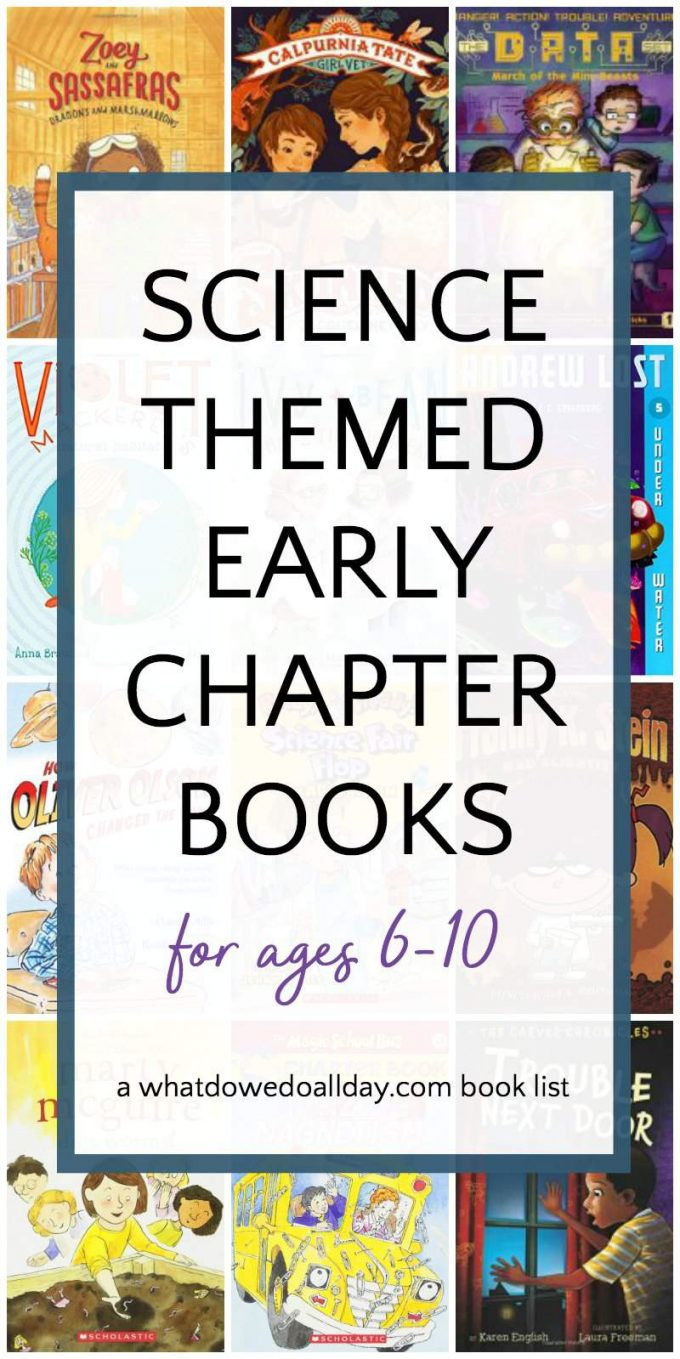 Science chapter books for kids ages 6-10
