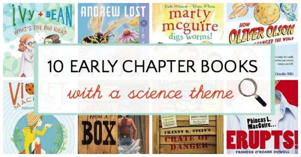 Early chapter books for kids with a science theme.