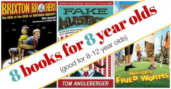 Books for 8-12 year olds.