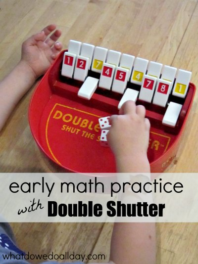 Re-purpose a game for early math practice.