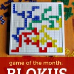 Game of the Month: Blokus