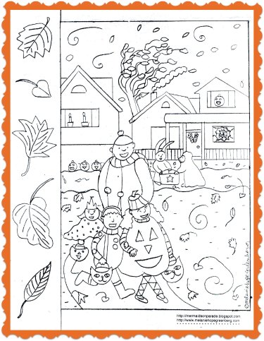 halloween coloring page 375