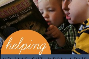 How parents can help kids love chapter books and tips for reading aloud.