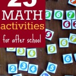 25 Playful Math Activities for After School